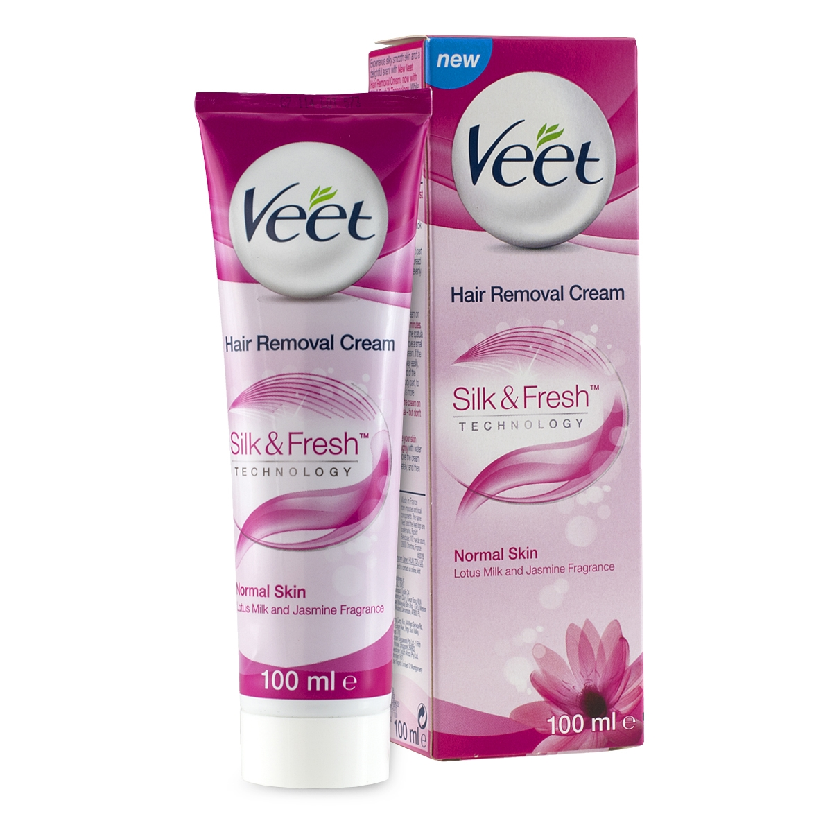 Veet Hair Removal Cream 100ml Lotus Milk Jasmine Fragrance